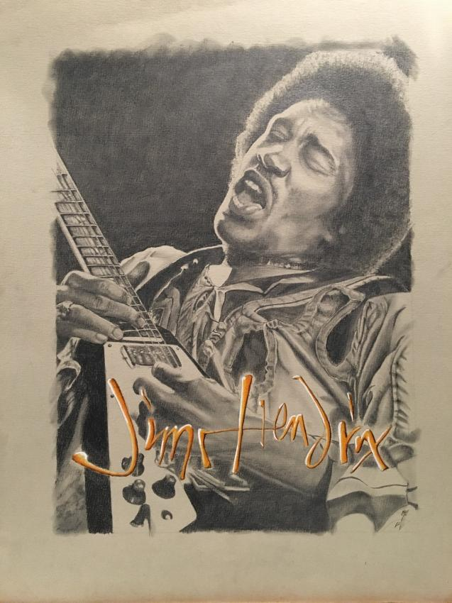 Jimi Hendrix by jazz